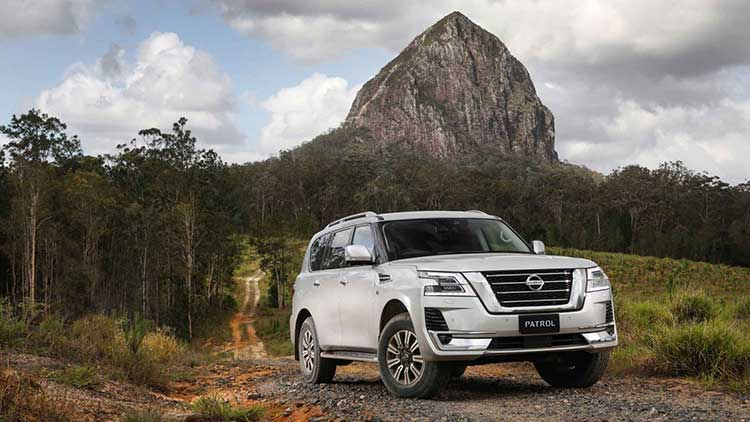 The new Nissan Patrol