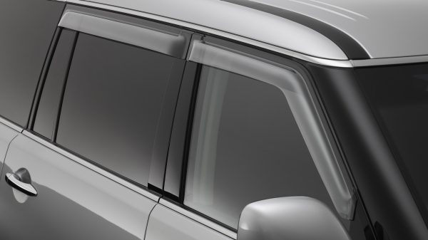 WEATHERSHIELDS (SLIMLINE, FRONT & REAR) Recommended Fitted Price: $152.00